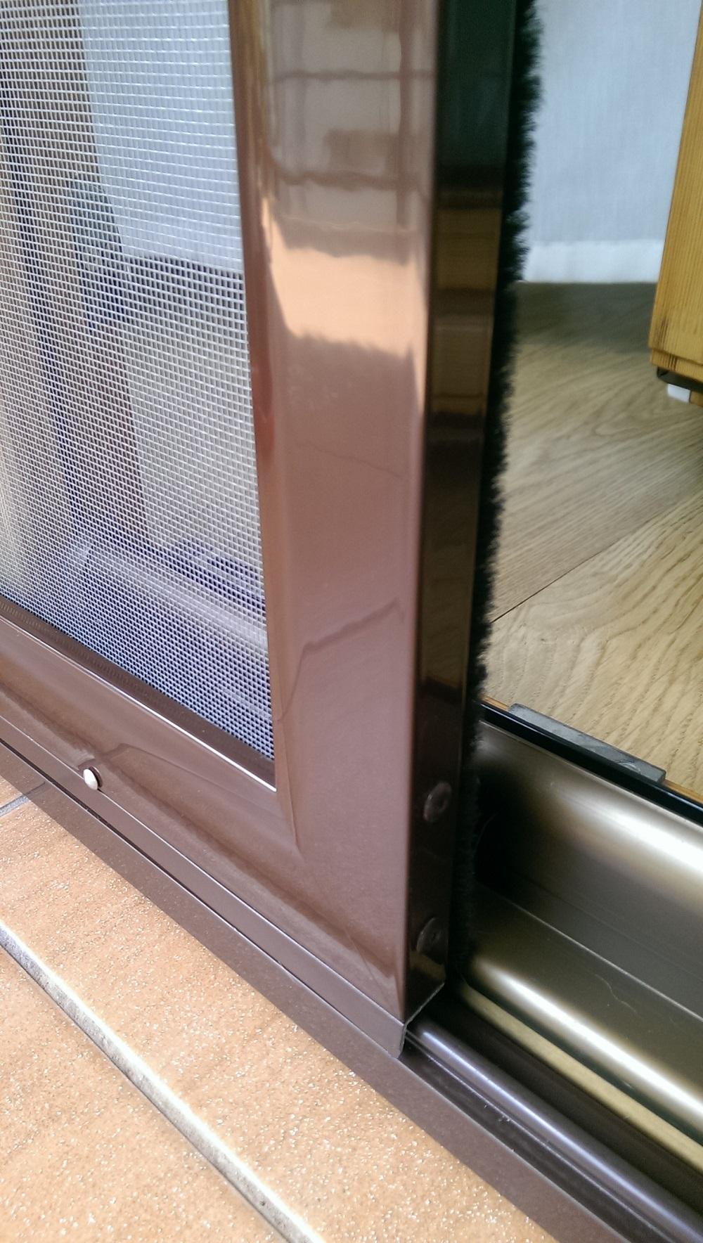 Moskitiera drzwiowa przesuwna - Loggia System