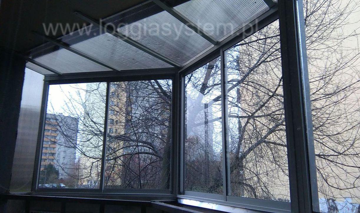 ramowa zabudowa balkonu